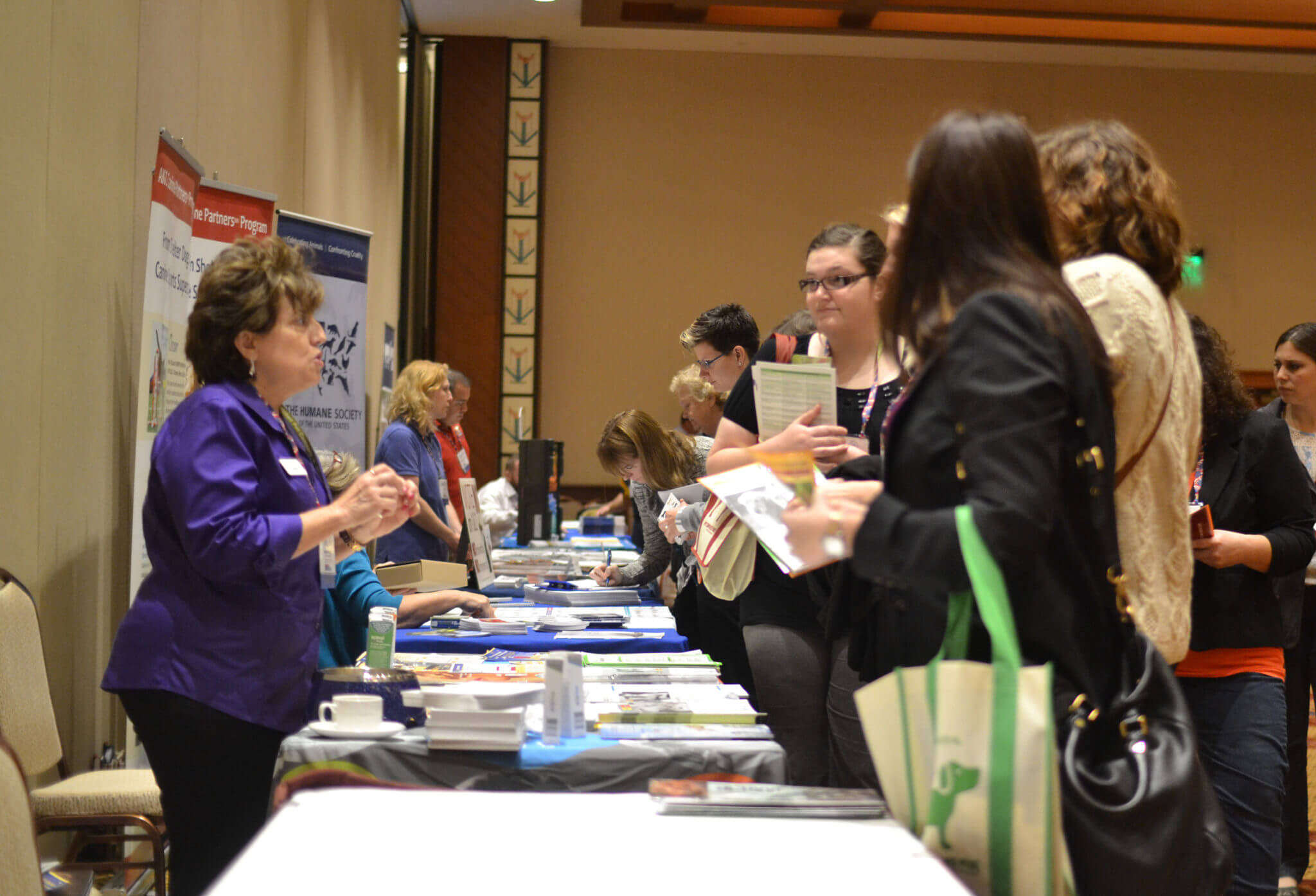 Conference sponsors were on hand in the exhibitor hall to share new and exciting products and services with attendees!
