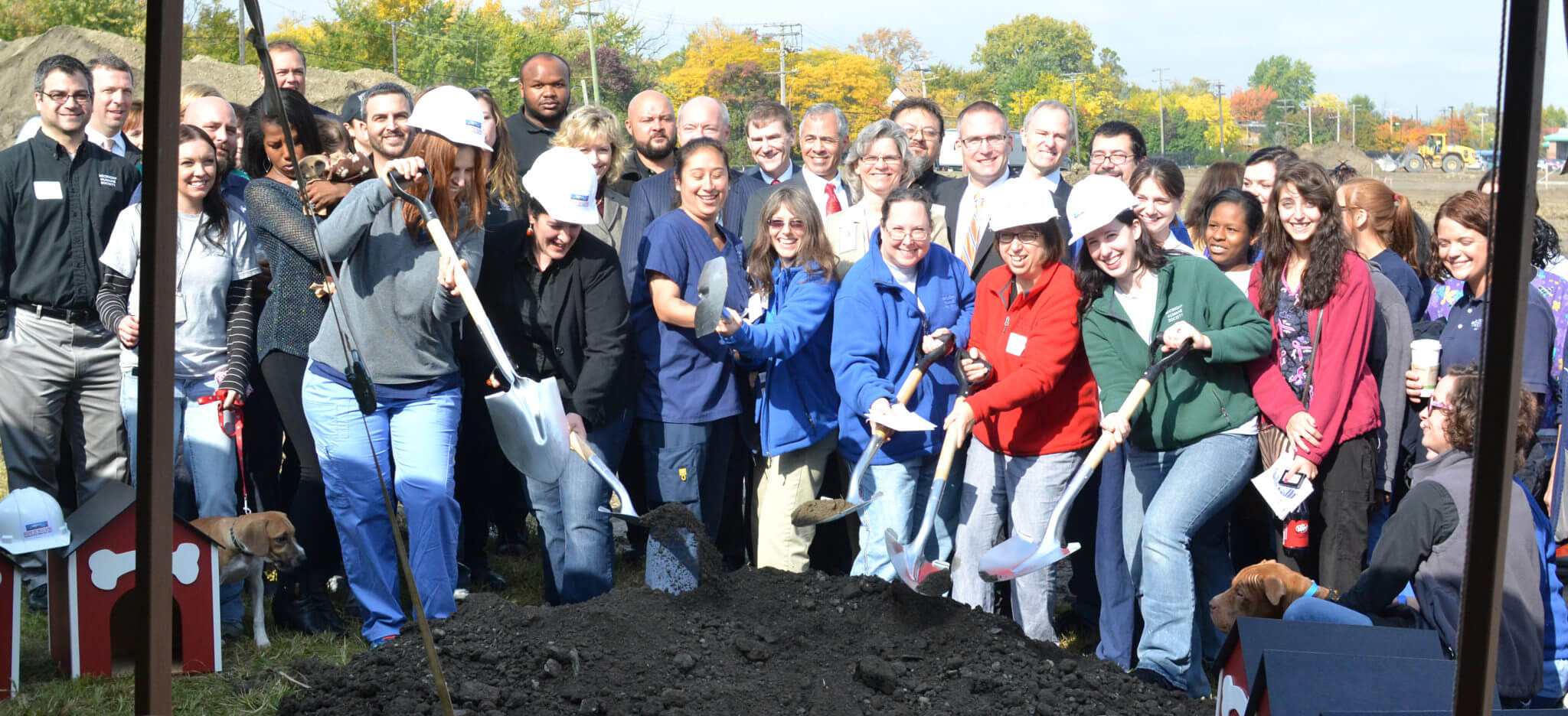 MHS staff is enthusiastic about our new Detroit Animal Care Campus, which will help us save even more animal lives.