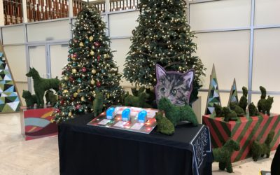 See the Michigan Humane Society Giving Tree in Downtown Detroit