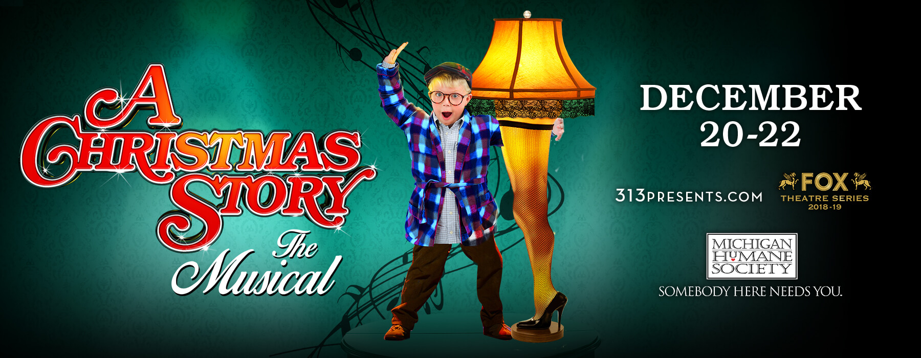 A Christmas Story Musical.A Christmas Story The Musical Mhs Promotion Michigan Humane Society