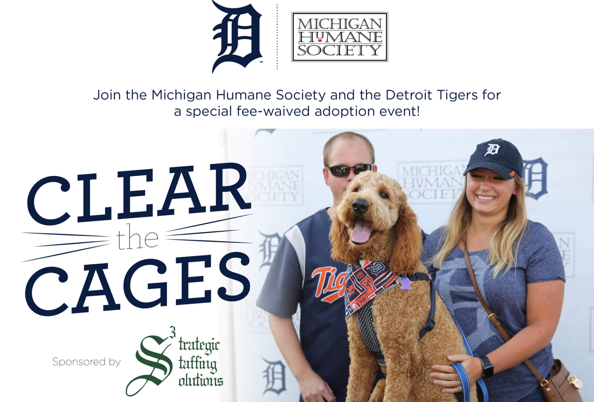The Detroit Tigers Winter Caravan stops by the Michigan Humane Society's Detroit shelter.