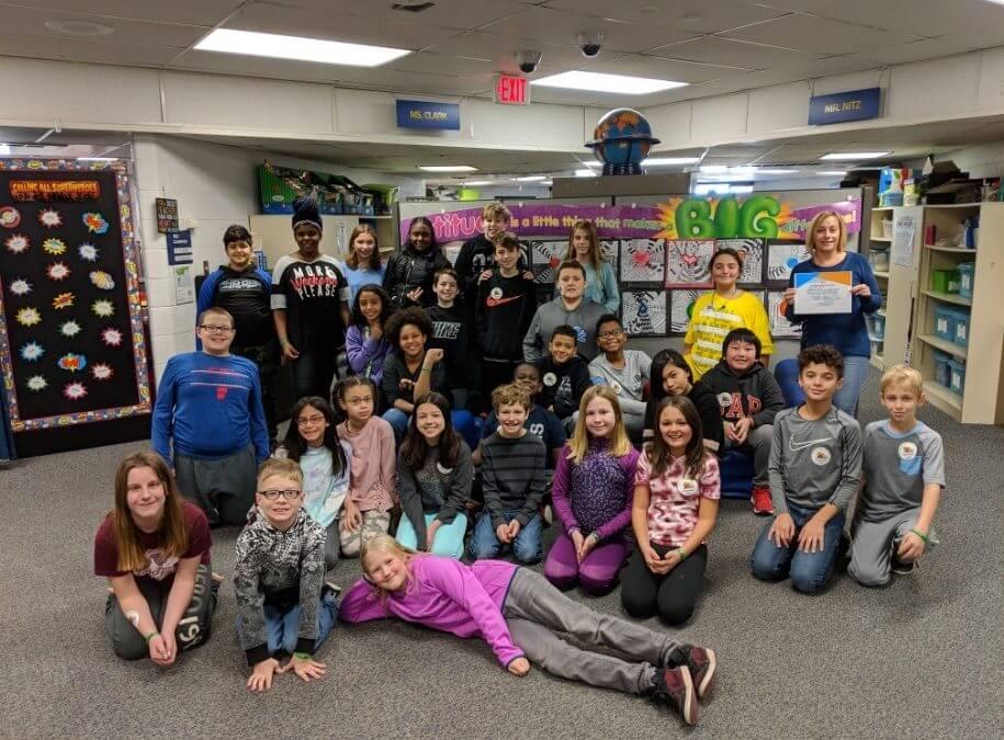 The Kibble: 5th Grade Students Raise Money for MHS