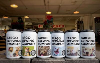 A North Dakota Brewery Put Adoptable Dogs on Their Beer Cans