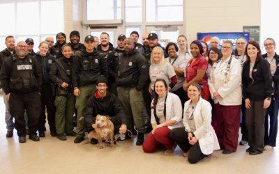 Michigan Humane Society Saves Dog Who Swallowed Bag of Crack Cocaine